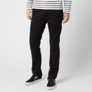 Nudie Jeans Men's Slim Adam Slim Jeans - Slim Adam Black - W36/l30 - Black 120110 Mens Trousers, Black
