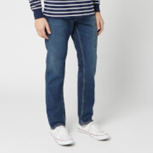 Nudie Jeans Men's Steady Eddie Ii Straight Jeans - Dark Classic - W38/l32 113130 Mens Trousers, Blue