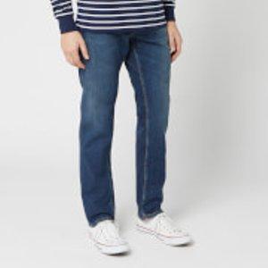 Nudie Jeans Men's Steady Eddie Ii Straight Jeans - Dark Classic - W32/l34 113130 Mens Trousers, Blue
