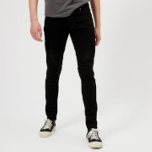 Nudie Jeans Men's Tight Terry Jeans - Ever Black - W32/l34 112569 Mens Trousers, Black