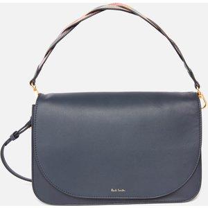 Paul Smith Women's Swirl Trim Medium Saddle Bag - Navy W1a 6436 Gswirt 47 0 Womens Accessories, Navy