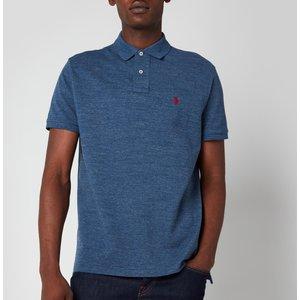Polo Ralph Lauren Men's Custom Slim Fit Mesh Polo Shirt - Classic Royal Heather - S 710666998005 General Clothing, Blue