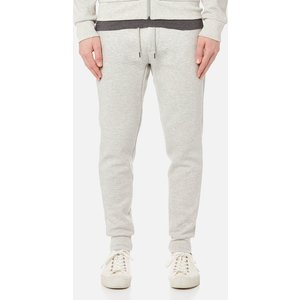 Polo Ralph Lauren Men's Double Knitted Joggers - Sport Heather - S 710652314013 Mens Clothing, Grey