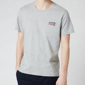 Polo Ralph Lauren Men's Liquid Cotton Crewneck T-shirt - Andover Heather - S 714804195002 Mens Tops, Grey