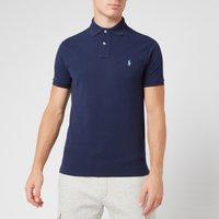 Polo Ralph Lauren Men's Slim Fit Short Sleeved Polo Shirt - Newport Navy - Xxl 710548797010 Mens Tops, Blue
