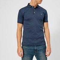 Polo Ralph Lauren Men's Slim Fit Soft Cotton Polo Shirt - Spring Navy Heather - Xxl - Navy 710652578075 General Clothing, Navy