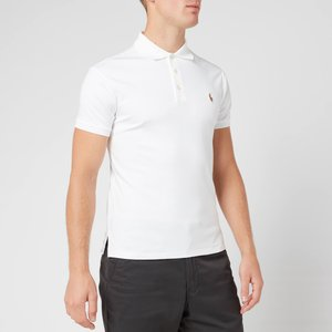 Polo Ralph Lauren Men's Slim Fit Soft-touch Polo Shirt - White - L 710685514001 Mens Tops, White