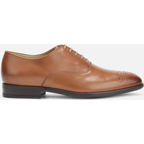 Ps Paul Smith Men's Guy Leather Oxford Shoes - Tan - Uk 10 M2s Guy03 Aoxf 62 Mens Footwear