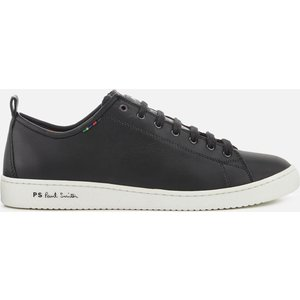 Ps Paul Smith Men's Miyata Leather Low Top Trainers - Black - Uk 11 - Black M2s Miy02 Aset 79 Mens Footwear, Black