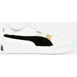 Puma Women's Cali Varsity Trainers - Puma White/puma Black - Uk 8 37410901 Womens Footwear, White