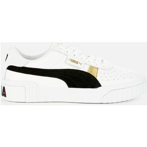 Puma Women's Cali Varsity Trainers - Puma White/puma Black - Uk 6 37410901 Womens Footwear, White