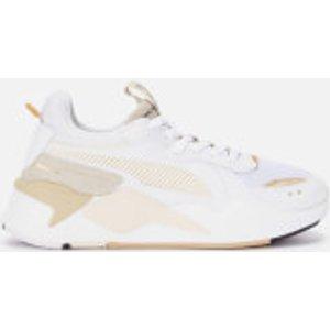 Puma Women's Rs-x Mono Metal Trainers - Puma White/puma Team Gold - Uk 8 37466902 Womens Footwear, White