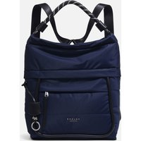 Radley Women's Devon Street Large Hobo Backpack - Ink H4068401 Womens Accessories, Blue