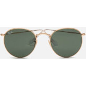 Ray-ban Women's Round Metal Sunglasses - Gold 0rb3447 001 50 Mens Accessories, Gold