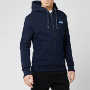 Superdry Men's Ol Winter Cali Zip Hoody - Rich Navy - Xxl M2000028aadq Mens Tops, Blue
