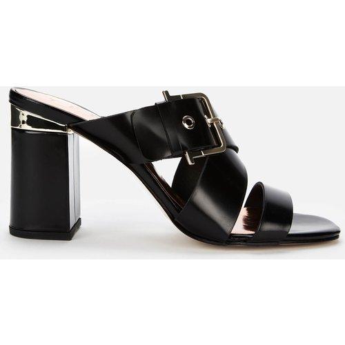 Ted Baker Women's Peataa Heeled Mules - Black - Uk 7 251046 Womens Footwear