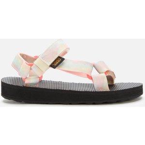 Teva Kids' Original Universal Tie-dye Sandals - Lemon Sorbet - Uk 1 Kids 1124232c Childrens Footwear, Multi