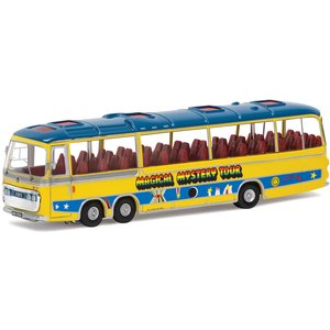The Beatles Magical Mystery Tour Bus Model Set - Scale 1:76 Cc42418 Toys