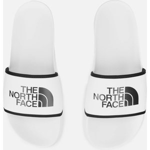 The North Face Base Camp Sliders Ill - Tnf White/tnf Black - Uk 10 Nf0a4t2rla91 Womens Footwear, White
