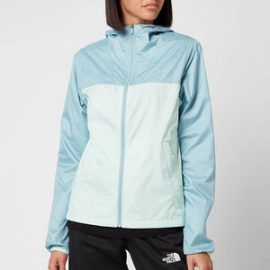The North Face Women's Cyclone Jacket - Tourmaline Blue/misty Jade - L Nf0a55suy4m1 Womens Outerwear, Blue