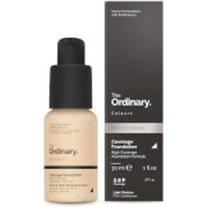 The Ordinary Coverage Foundation With Spf 15 By The Ordinary Colours 30ml (various Shades) 769915193220 Cosmetics, 2.0P