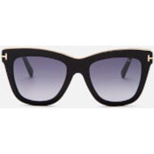 Tom Ford Women's Julie Sunglasses - Shiny Black/smoke Mirror Ft0685  01c Womens Accessories, Black