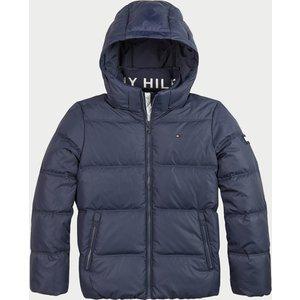 Tommy Hilfiger Boys' Essential Down Jacket - Twilight Navy - 10 Years Kb0kb05879c87 Boys Clothes, Blue