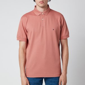 Tommy Hilfiger Men's 1985 Regular Polo Shirt - Mineralize - S Mw0mw17770sm8 General Clothing, Pink