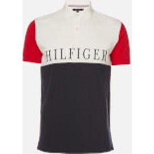 Tommy Hilfiger Men's Colorblock Regular Polo Shirt - Desert Sky Multi - Xl Mw0mw131070a5 Mens Tops