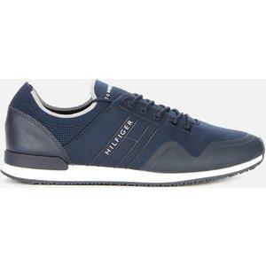 Tommy Hilfiger Men's Iconic Sock Knit Running Style Trainers - Desert Sky - Uk 8 Fm0fm03615dw5 Mens Footwear, Blue