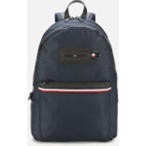 Tommy Hilfiger Men's Nylon Backpack - Sky Captain Am0am05565cjm Mens Accessories, Multi