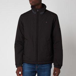 Tommy Hilfiger Men's Padded Stand Collar Jacket - Black - Xxl Mw0mw18772bds General Clothing, Black