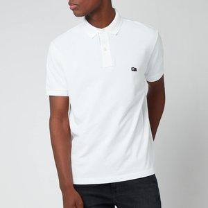 Tommy Hilfiger Men's Wavy Flag Polo Shirt - White - L Mw0mw19101ybr General Clothing, White