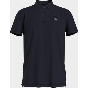 Tommy Jeans Men's Essential Jersey Polo Shirt - Black - M Dm0dm10322bds Mens Tops, Black