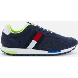 Tommy Jeans Men's Retro Mix Pop Running Style Trainers - Twilight Navy - Uk 8 Em0em00725c87 Mens Footwear, Blue