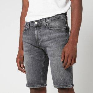 Tommy Jeans Men's Scanton Slim Denim Shorts - Court Black - W32 Dm0dm079821a4 Mens Clothing, Grey