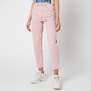 Tommy Jeans Women's Ultra Hr Tapered Mom Jeans - Pink Daisy - W26/l30 Dw0dw099001ce Womens Clothing, Pink