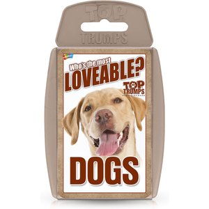 Top Trumps Card Game - Dogs Edition Wm01575 En1 6 Games, Puzzles & Learning