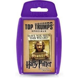 Top Trumps Card Game - Harry Potter And The Prisoner Of Azkaban 2021 Edition Wm01218 En1 6 Games, Puzzles & Learning