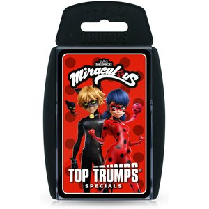 Top Trumps Card Game - Miraculous Edition Wm01272 En1 6 Games, Puzzles & Learning