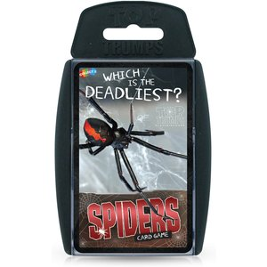 Top Trumps Card Game - Spiders Edition Wm01602 En1 6 Games, Puzzles & Learning