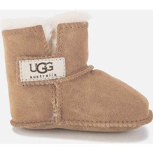 Ugg Babies' Erin Logo Sheepskin Boots - Chestnut - 9-12 Months 5202 Che Childrens Footwear, Brown