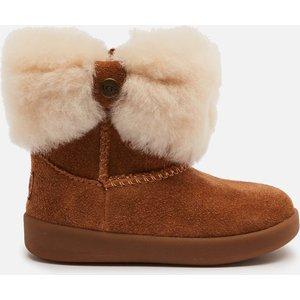 Ugg Babys' Ramona Sheepskin Boots - Chestnut - 9-12 Months 1095571i Childrens Footwear, Brown