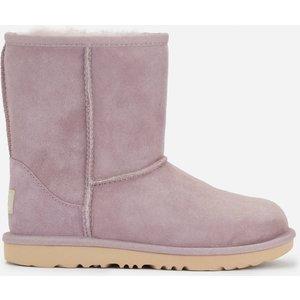 Ugg Kids' Classic Ii Waterproof Boots - Shadow - Uk 2 Kids 1017703k Childrens Footwear, Purple