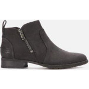 Ugg Women's Aureo Ii Waterproof Ankle Boots - Black - Uk 3 1105865 Blk Womens Footwear
