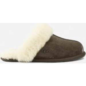 Ugg Women's Scuffette Ii Sheepskin Slippers - Espresso - Uk 3 1106872 Esp Womens Footwear, Brown