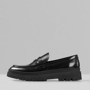 Vagabond Men's James Leather Loafers - Black - Uk 11 5080 604 20 Mens Footwear, Black