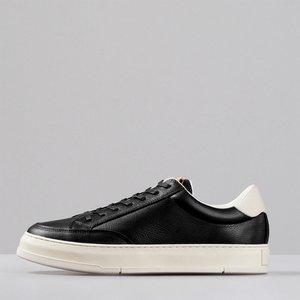 Vagabond Men's John Leather Cupsole Trainers - Black - Uk 9 4984 001 20 Mens Footwear, Black
