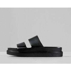Vagabond Men's Seth Leather Double Strap Sandals - Black - Uk 7 4790 101 20 Mens Footwear, Black