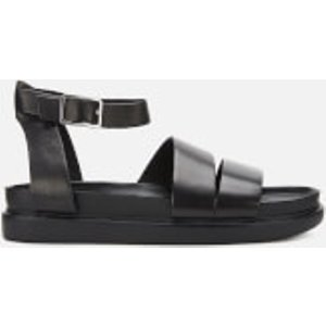 Vagabond Women's Erin Leather Flat Sandals - Black - Uk 7 4932 301 20 Womens Footwear, Black
